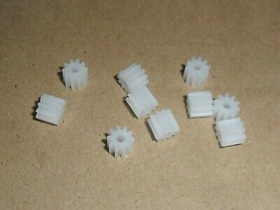 Scalextric 10 X 9 Dents Tout Neuf Pignons Superbe Voiture Rechange Vrac Buys