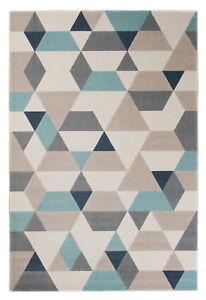 Pastell Teppich Turkis Jugendzimmer Kinderzimmer Modern 160x230