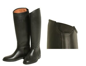 037eb9579eac0 Details about Horseware Ladies Tall RUBBER Waterproof Riding Boots Black  37-42 Std/Wide/X-Wide