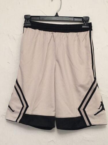 954733 Jordan Kids Shorts Rise Diamond Desert Sand Black Dri-Fit Youth Boys NEW