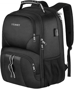 Travel Backpacks for Men, Extra Large TSA Friendly Business Anti Theft Durable