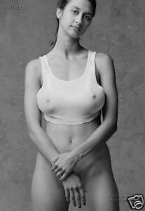 Natalie-81107-06-B-amp-w-Fino-Arte-Carne-Model-Firmado-a-Mano-Foto-Por-Craig-Morey