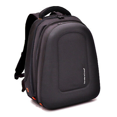 Traveler Choice Carry-on Expandable Ballistic Compression Molded Laptop Backpack