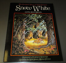 1987 Complete Story of Walt Disney SNOW WHITE VF+ HC w/ DJ 80 pgs Abrams