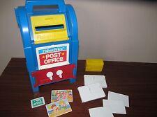 Fisher Price 2020 Post Office Mail Box Envelope Stamp Letter Carrier Safe