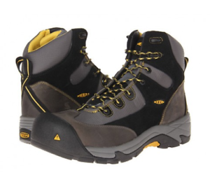 KEEN Utility Footwear Men's Rainier Mid ESD shoes New Without Box