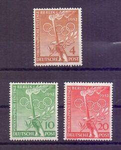 Berlin-1952-Vor-Olympiade-MiNr-88-90-postfrisch-Michel-30-00-706