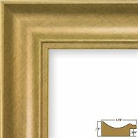 Craig Frames Revival, Vintage 1.75 Brushed Gold Picture Frame
