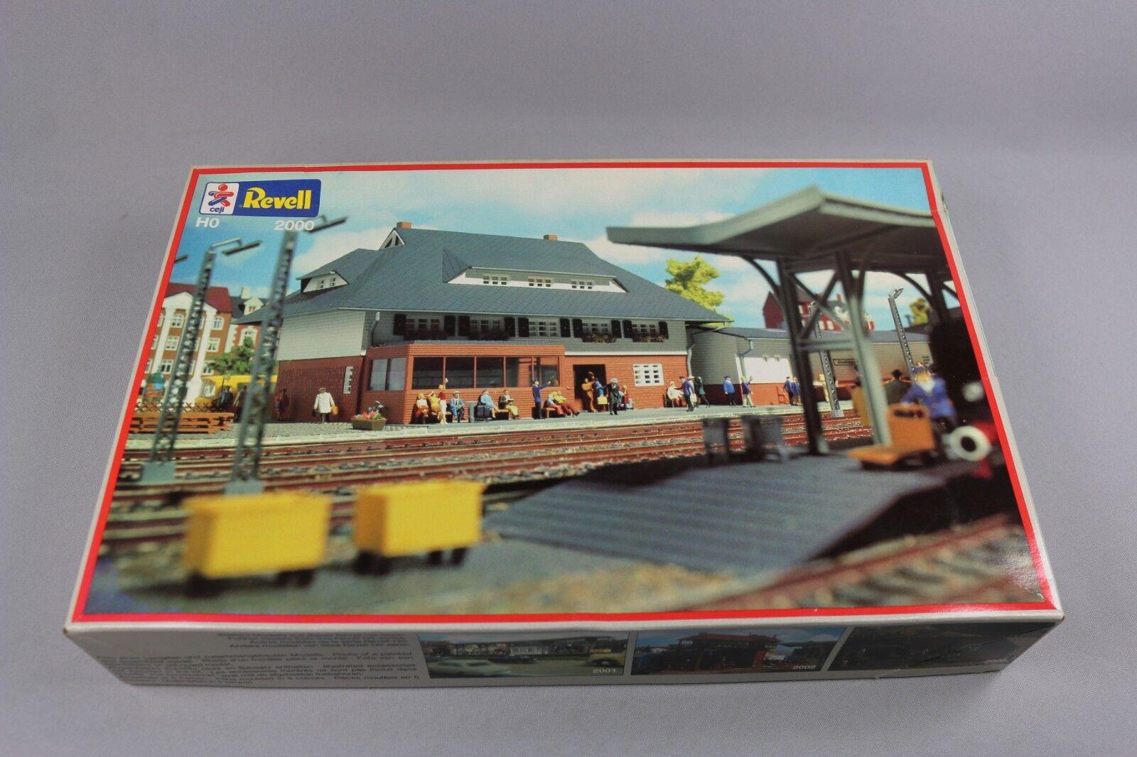 Zf1394 Revell Revell Revell Ho 1 87 Modellino Ferroviaire 2000 Stazione Piccolo Villaggio 0cabd7