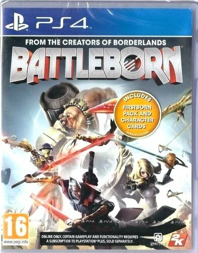 BATTLEBORN PS4 PLAYSTATION 4 NEW - UK - With Firstborn Pack - 1st Class Delivery