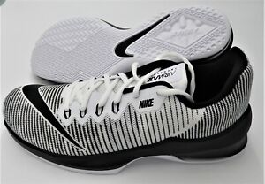 Details about NIKE MENS AIR MAX INFURIATE 2 LOW WHITE BLACK 908975 100 AIRMAX