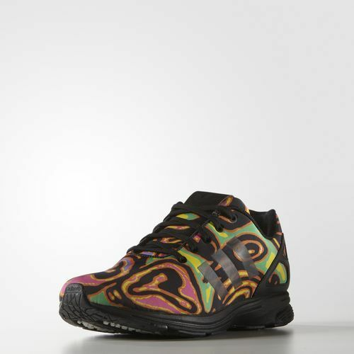 Adidas Originals Jeremy Scott ZX Flux  Tech Psychedelic scarpe Dimensione 7 us S7841  Ritorno di 10 giorni