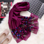 Brand-luxury-silk-scarf-2018-New-Designer-women-brand-colorful-shawl-scarf thumbnail 9