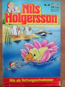 NILS HOLGERSSON Nr. 46 (2) Nils als Rettungsschwimmer Bastei-Comic A. Lindgren - Berlin, Deutschland - NILS HOLGERSSON Nr. 46 (2) Nils als Rettungsschwimmer Bastei-Comic A. Lindgren - Berlin, Deutschland