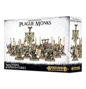 Warhammer-Fantasy-Age-of-Sigmar-Skaven-Plague-Monks-NIB