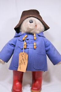 Vintage 1970s Paddington Bear with Dunlop Boots by Gabrielle Designs​