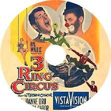 3 Ring Circus DVD Dean Martin Jerry Lewis Joanne Dru Zsa Zsa Gabor Rare1954