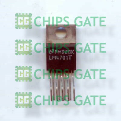 TO-220-9 LM4701T LM4701T//NOPB 1PCS Audio Power Amplifier IC NSC ZIP-9
