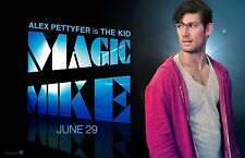 Magic Mike movie poster  :  Alex Pettyfer poster : 11 x 17 inches