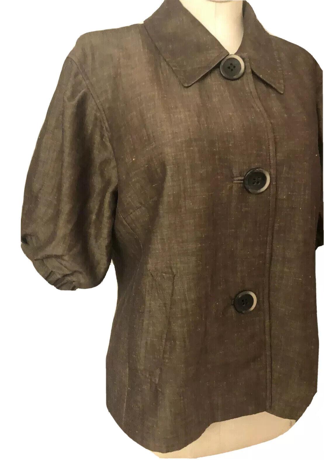 Lafayette 148 New Linen/Wool Blend Pant Suit Size… - image 5