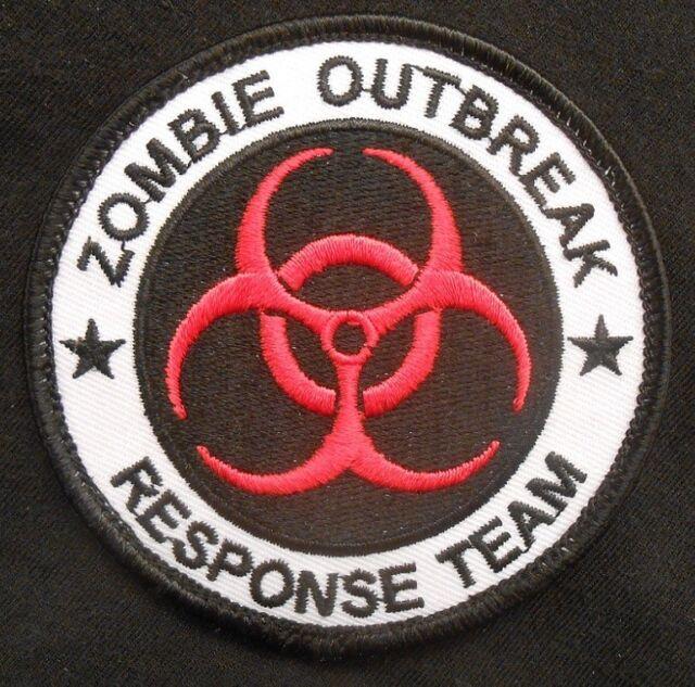 ZOMBIE HUNTER OUTBREAK RESPONSE TEAM ARMY COMBAT ORIGINAL VELCRO® BRAND PATCH