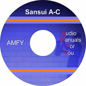 SANSUI-service-manuals-owners-manuals-and-schematics-on-3-dvd-all-pdf-format