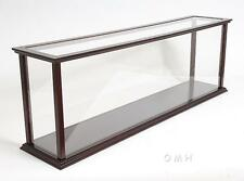 Wooden Ship Model Display Case For Cruise liners Size: L: 38 Inches