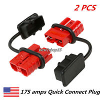Quick Connector Winch Trailer Battery Connect/disconnect Wire Harness Plug 175a
