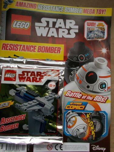 MINT UK EDITION 44 LEGO STAR WARS MAGAZINE #44 LEGO SET TOY GIFT RESISTANCE BMR
