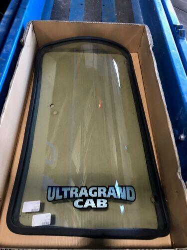KUBOTAGLASS FORM SERIES CAB #3C591-70530 WITH GASKET-LEFT SIDE REAR