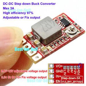 Mini-DC-DC-Buck-Step-down-Converter-Adjustable-Power-Module-3-3V-3V-5V-9V-12V-3A