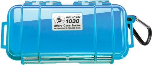 Pelican ™ 1030 Solid Blue Micro Case with Free engraved nameplate