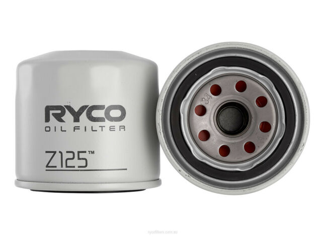 Ryco Oil Filter Z125 fits Holden Drover 1.3 4x4 (QB)