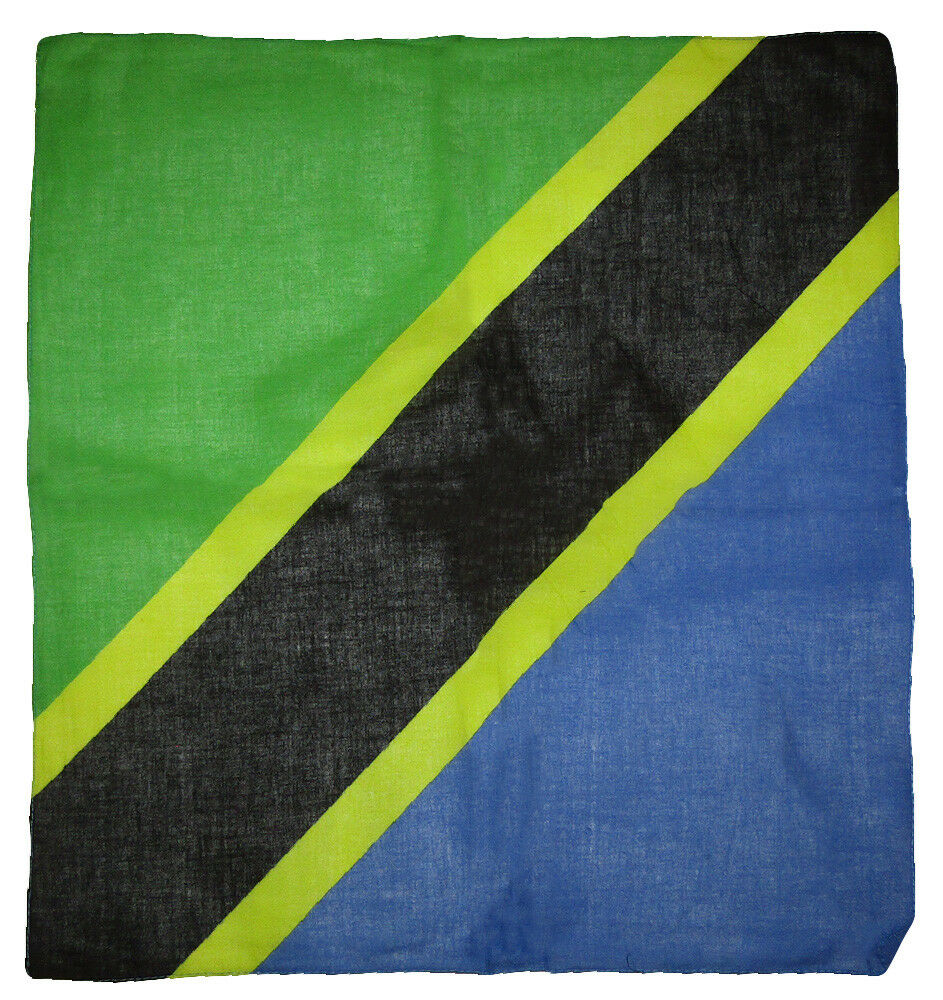 Wholesale Lot of 12 Tanzania Country 100% Cotton 22