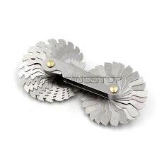 Screw Pitch Gauge Thread GAGE 52PCS 60°METRIC 55° WHITWORTH Lock device
