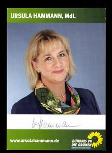 Original, Nicht Zertifiziert Ursula Hammann Autogrammkarte Original Signiert ## Bc 105540 Kann Wiederholt Umgeformt Werden.