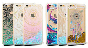 Clear-Dynamic-Liquid-Quicksand-Glitter-Hard-Case-for-iPhone-7-6-6s-Plus-5-SE