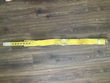 Miller 3 Na Fall Protection Safety Body Belt L Usa Single D 1987 Yellow Ppe Made