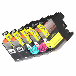 5pk-LC203-XL-Compatible-Ink-For-Brother-MFC-J4320W-MFC-J4420DW-MFC-J4620D-w-Chip