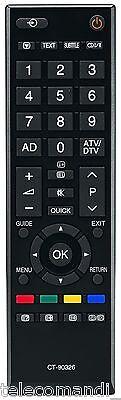 Telecomando per Toshiba CT-90326 32AV623D 32AV625D 32AV633D 32AV635D Nuovo