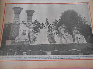 Le Char de Notre Dame de Liesse au défilé Historqie 3 chevaliers Print 1934 pzPCjySP-09154516-156138821