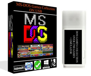 MS-DOS-Games-Collection-For-PC-amp-Laptop-Retro-Emulator-2700-Classic-Game-On-USB