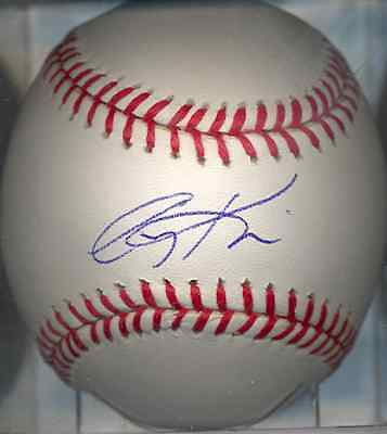 Autographs-original Friendly Corey Koskie Minnesota Twins Oml Signed Baseball Coa Commodities Are Available Without Restriction