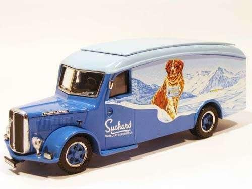 Saurer 3CT1D Fourgon ''Suchard-Milka'' (TEK-HOBY 1 50   TH5331)