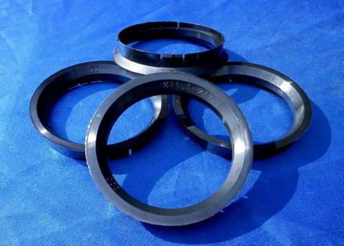 4 St anillas de centrado reduzierringe 76,0 mm 67,1 mm negro para llantas de aluminio z20