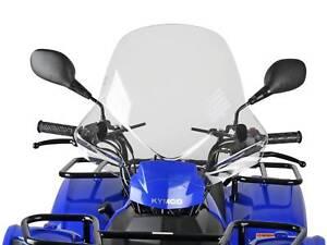 Windschild-Windschutzscheibe-Speeds-fuer-Kymco-ATV-Quad-Scheibe