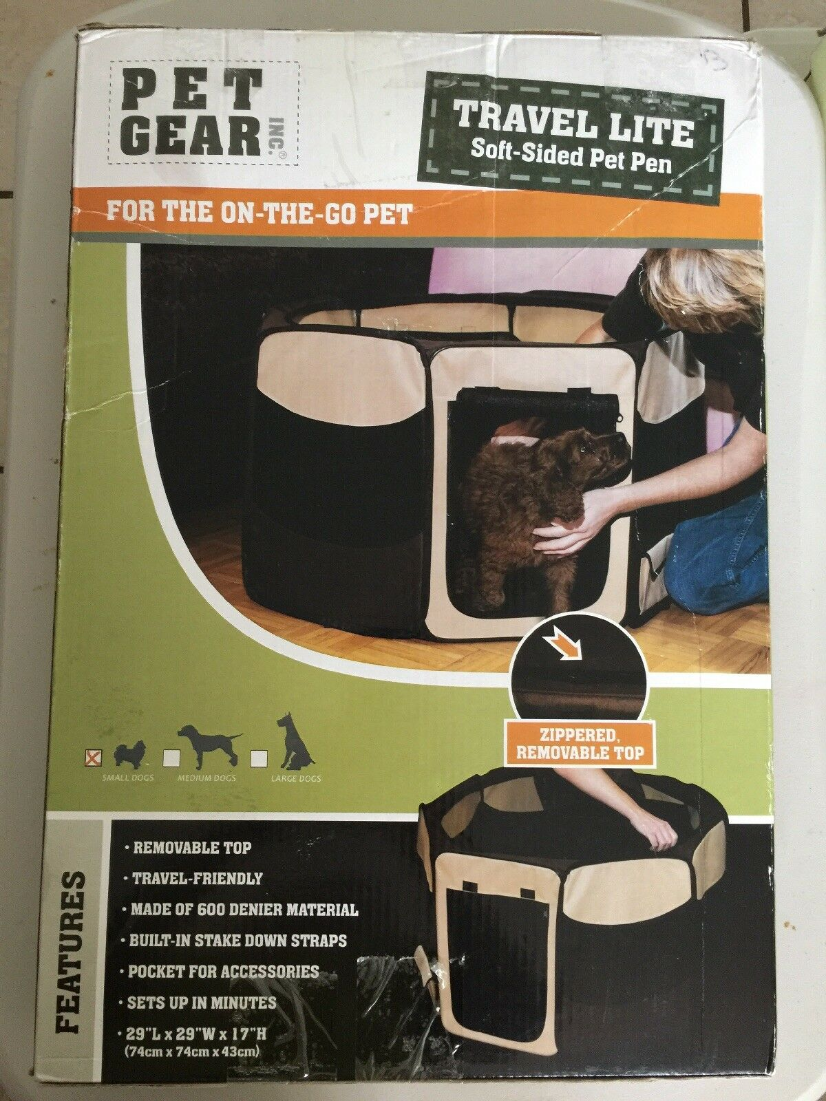 Travel Lite Soft-Sided Pet Pen Pen Pen - Small Sage 776b70
