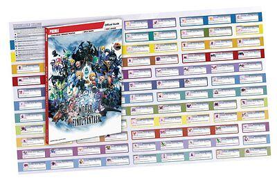 World of Final Fantasy Long Tran Paperback Pre-order 28/10/16 9780744017533