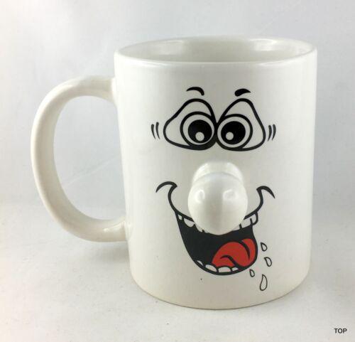 Tasse mit Gesicht Nase Henkeltasse Kaffeebecher Geschenkidee