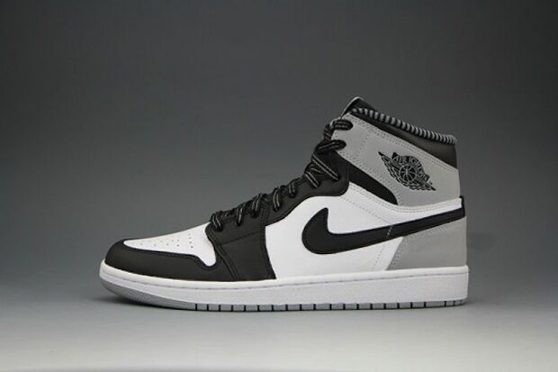 Nike Air Jordan 1 Retro High OG Barons size 13. Black Grey. 555088-104. shadow